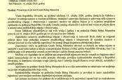 Priopćenje za javnost Grada Belog Manastira