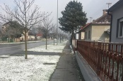 Prvi snijeg u Belom Manastiru ove sezone