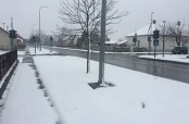 U Belom Manastiru snijeg pada još jače