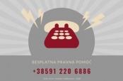 Besplatna pravna pomoć preko telefona