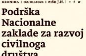"""Članak o """"Oazi"""" u zagrebačkim """"Novostima"""""""