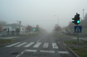 Prva jesenska magla u Belom Manastiru
