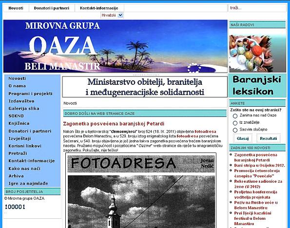 oaza web mjesta za druženje