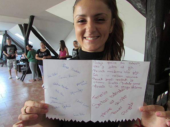 dječji stihovi za rođendan Rođendansko iznenađenje za plesnu trenericu dječji stihovi za rođendan