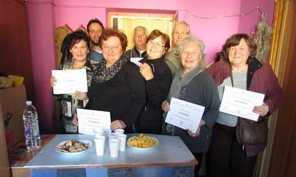 Uz kratki domjenak i druženje, polaznicima je došla čestitati i Katica Ničin.
