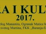 """Najava manifestacije """"Vjera i kultura 2017."""""""