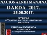 Najava Međunarodne smotre folklora u Dardi