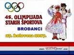 Pozivnica na Olimpijadu starih športova