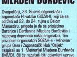 Omaž Mladenu Đurđeviću