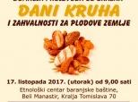 """Najava izložbe """"Dani kruha"""""""