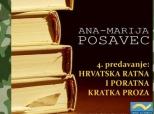 Najava predavanja Ana-Marije Posavec