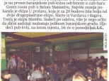 """Članak o pab-kvizu u """"Glasu Slavonije"""""""
