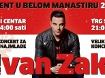 Poziv na koncert Ivana Zaka