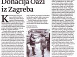 "Zagrebačke ""Novosti"" o donaciji Nele Rubin"