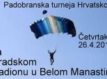 Poziv na padobranski miting u Belom Manastiru