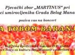 """Poziv na koncert """"Za tobom, Baranjo"""""""