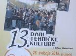 Poziv na 13. Dane tehničke kulture