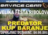 Najava Predator-kupa na Topoljskom Dunavcu