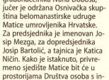 Iz starih novina: MUH Beli Manastir