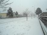 Fotovijest: Pravi snijeg u Belom Manastiru