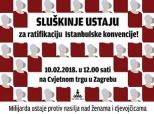 Poziv na prosvjed u Zagrebu