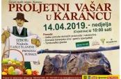 Najava Proljetnog vašara u Karancu