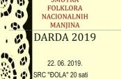 Poziv na Smotru folklora nacionalnih manjina u Dardi