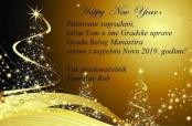 Novogodišnja čestitka belomanastirskog gradonačelnika