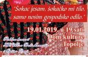 Poziv na poklon-koncert HKUD-a u Topolju