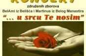 Poziv na koncert združenih zborova u Belom Manastiru