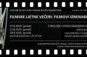 Filmovi iznenađenja u Etnološkom centru