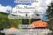 Koncert dua Naumov – Batorek na Jankovcu