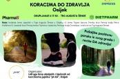 """Osijek: Najava akcije """"Koracima do zdravlja"""""""