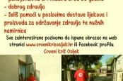 Crveni križ Osijek traži volontere