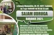 Poziv na Sajam udruga Baranje 2021.