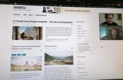 Online-sastanak vezan za kreiranje nove web-stranice