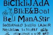 Najava biciklijade na Šećeranskom jezeru